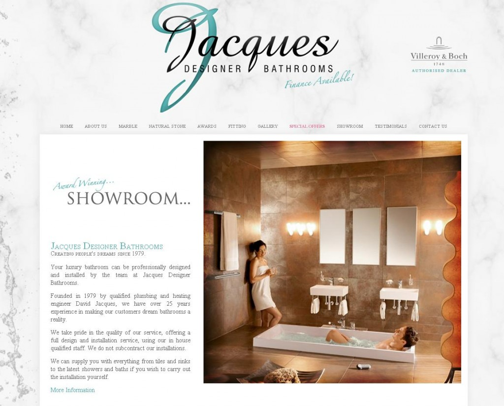 Jacques Designer Bathrooms  Bathrooms Showrooms Solihull